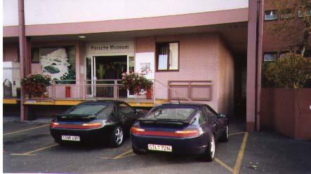 Visit to Porsche Factory
