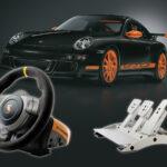 Fanatec Porsche 911 GT3 RS Wheel/Pedal Setup