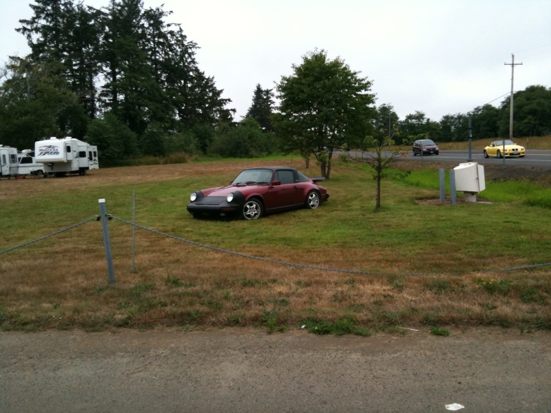 porsche-911-targa-oregon-campground