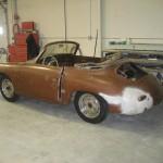 1957 356 Cabriolet Restoration