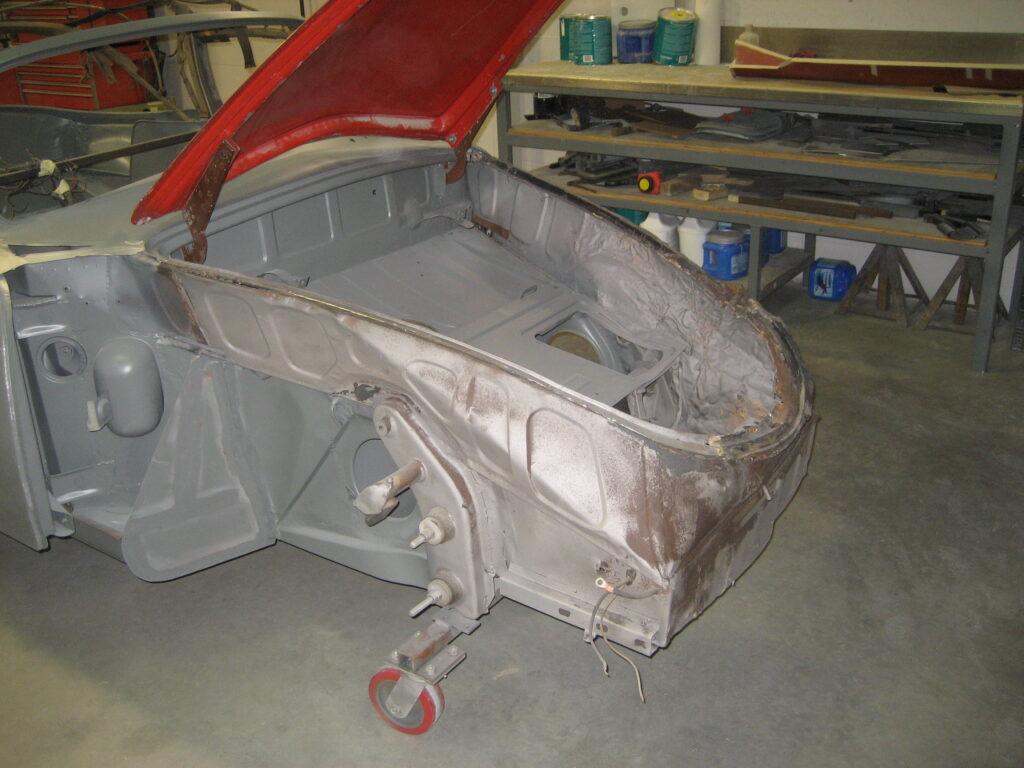 Porsche 356 1957 Porsche Cabriolet Restoration 58