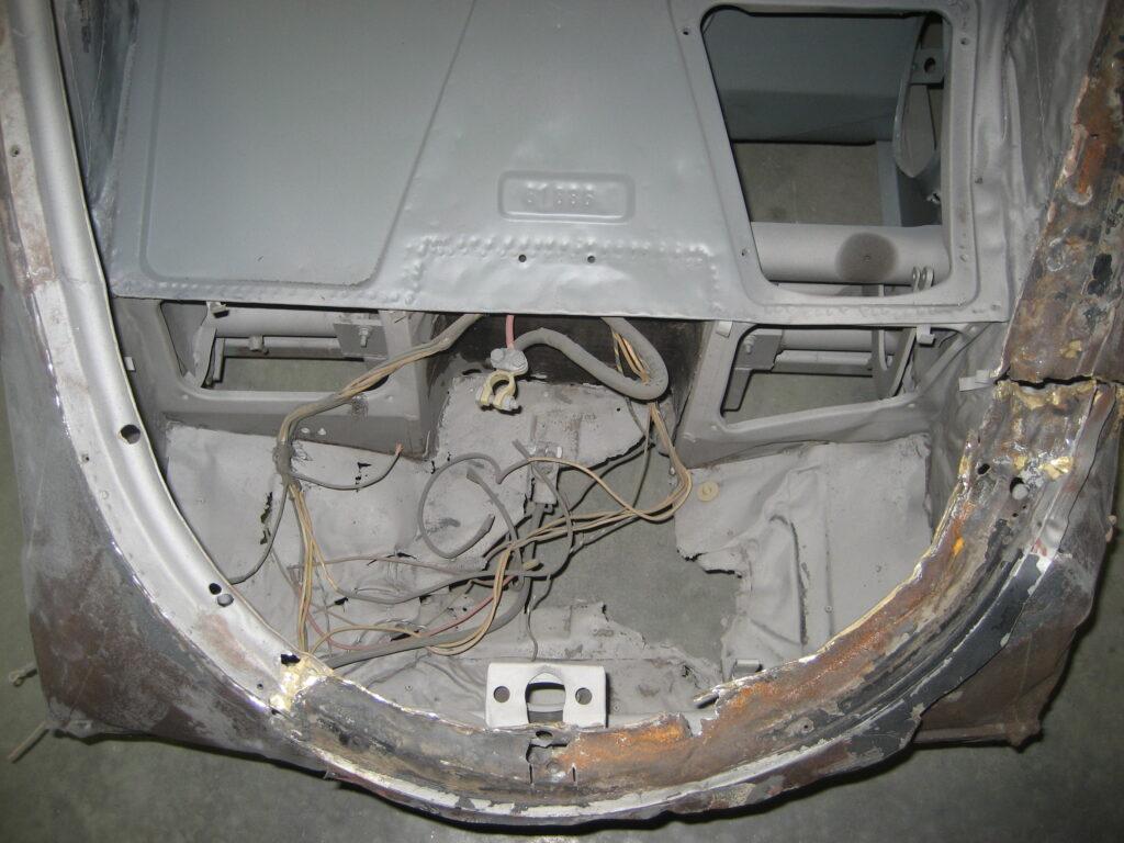 Porsche 356 1957 Porsche Cabriolet Restoration 59