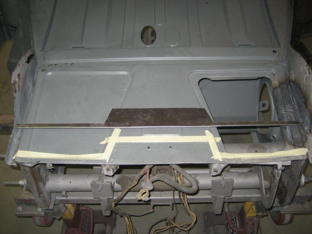 porsche 356 1957 cabriolet restoration 61