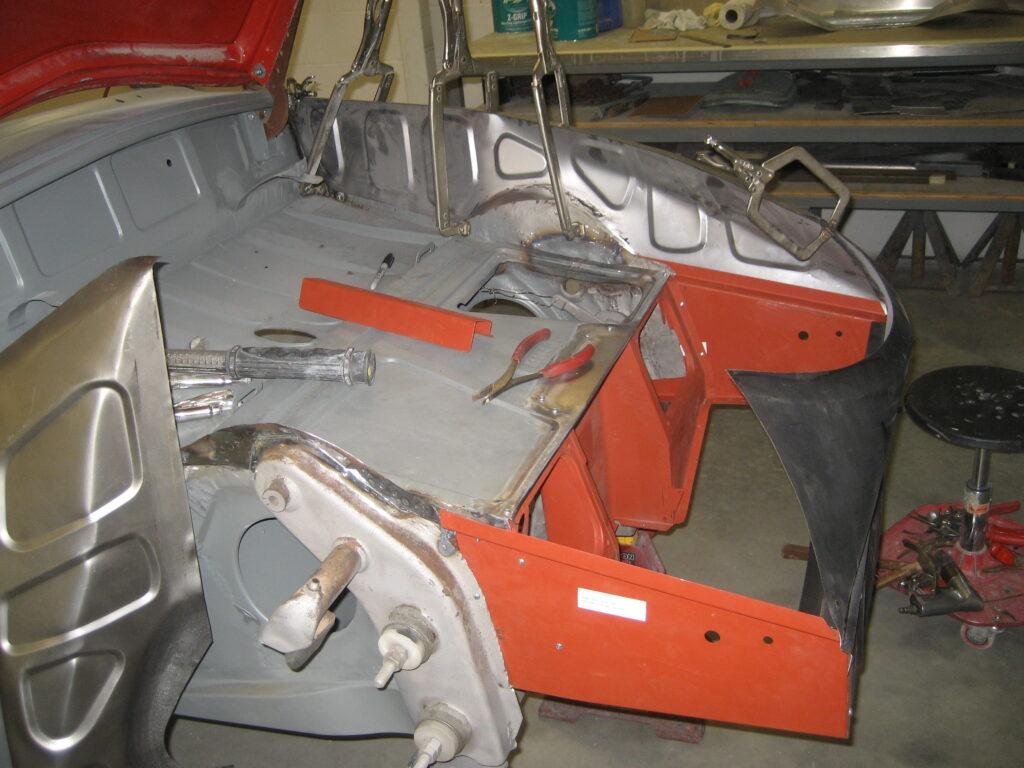 porsche 356 1957 cabriolet restoration 63