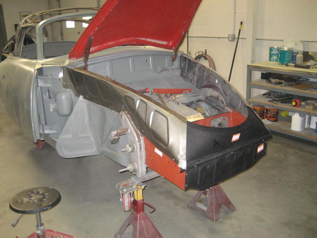 porsche 356 1957 cabriolet restoration 64