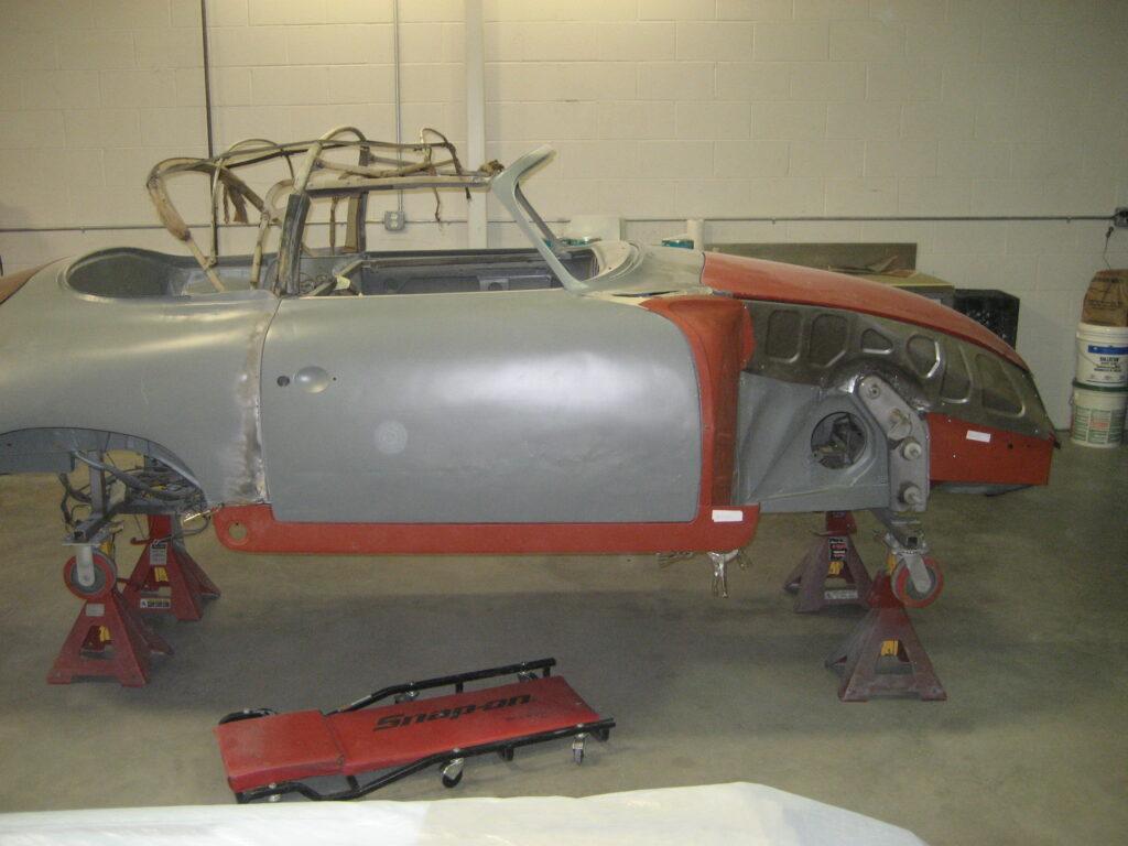 porsche 356 1957 cabriolet restoration 65