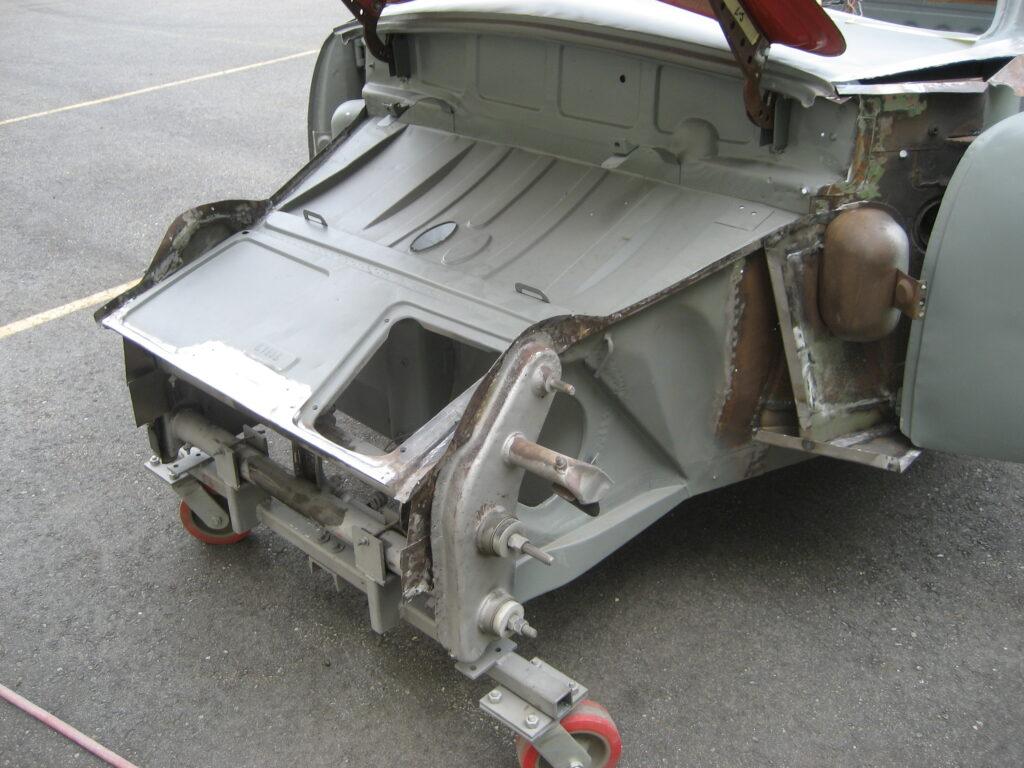 porsche 356 1957 cabriolet restoration 66