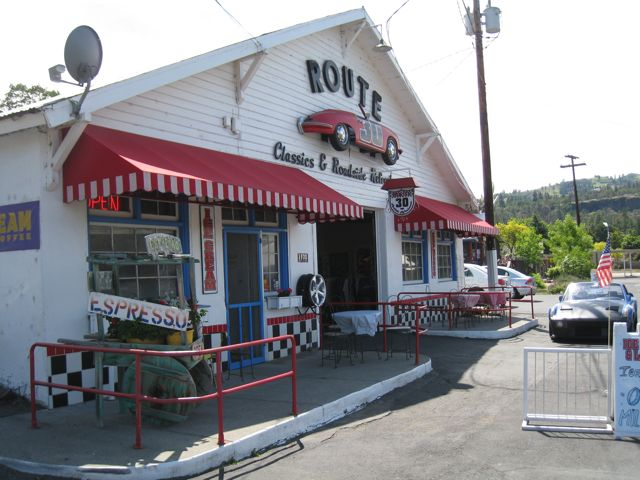 route 30 classics porsche ice cream shop