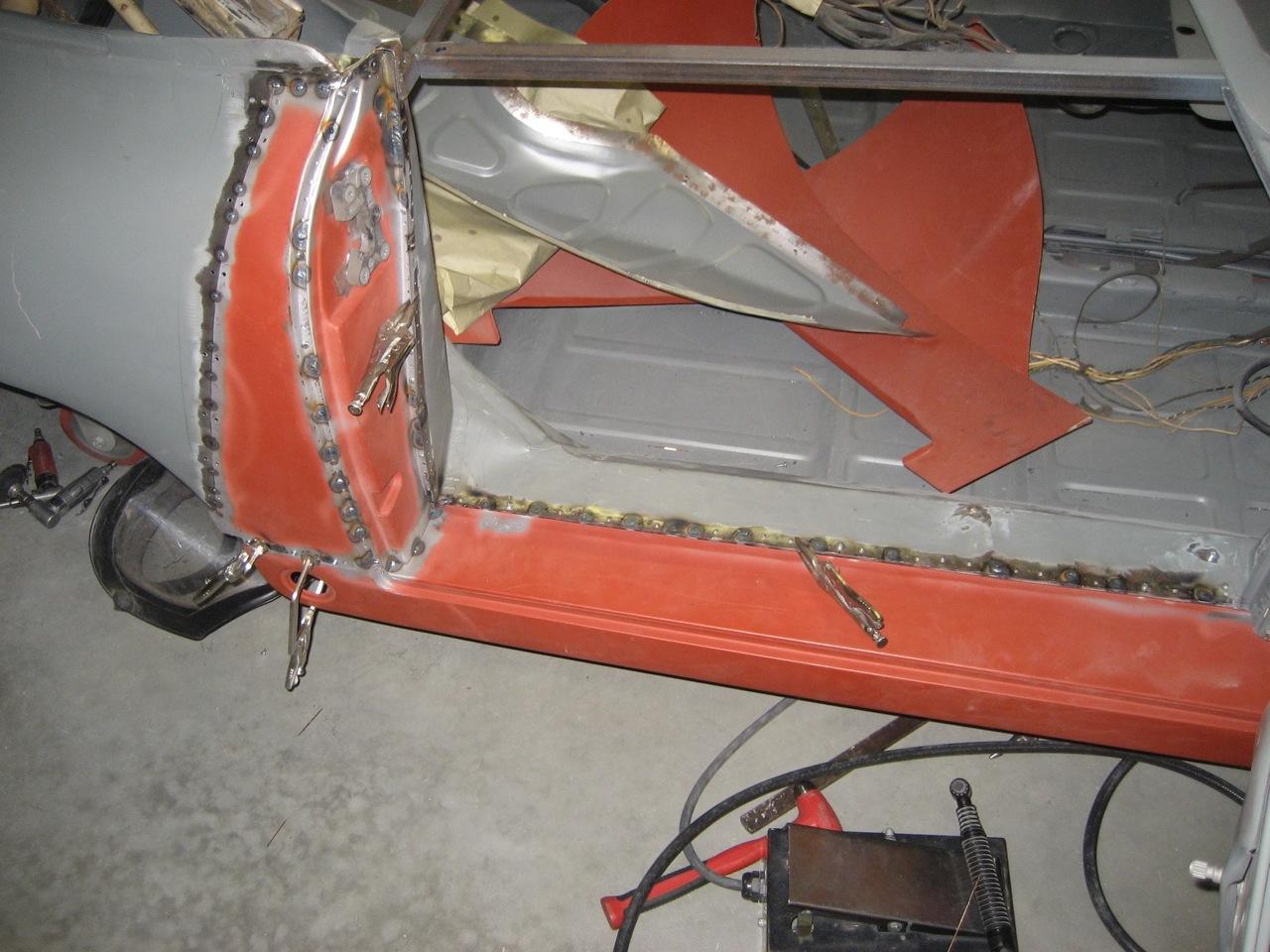 1957 356 Cabriolet Restoration Part 13