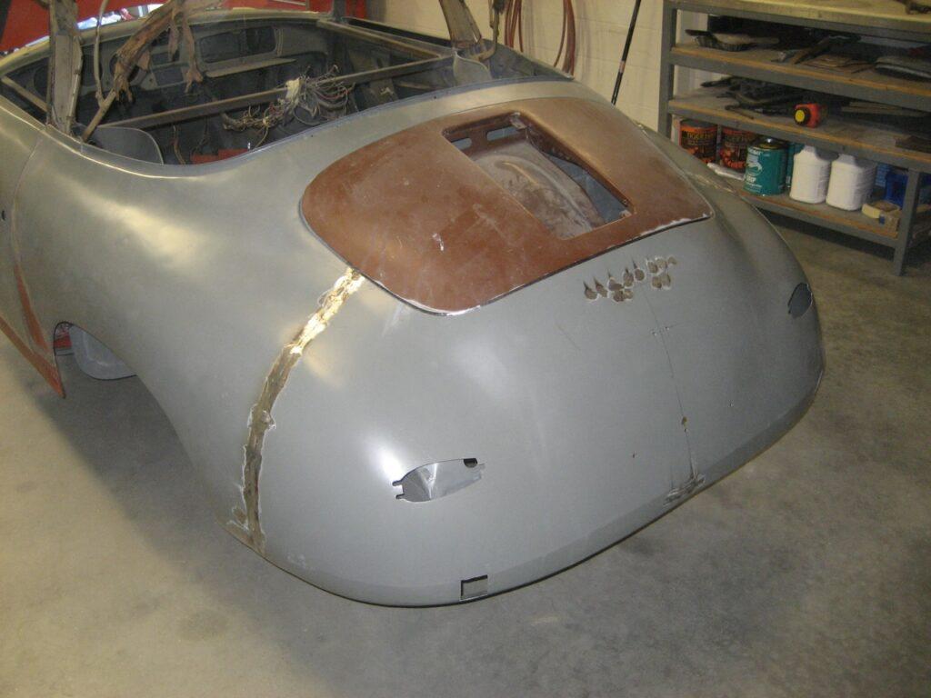 porsche 356 1957 cabriolet restoration