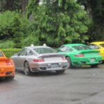 Colorful Porsche 911 Turbo Pictures