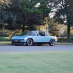 porsche 914 1973 blue