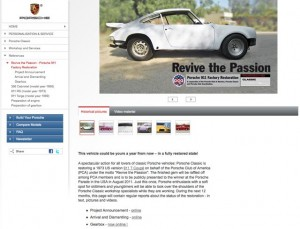 revive the passion home page