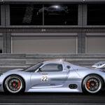 Porsche 918 RSR profile
