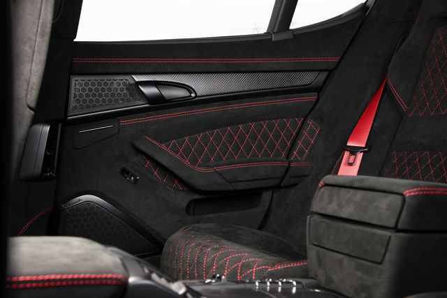 TECHART GrandGT Porsche Panamera Turbo Interior