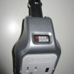 black & decker 100w power adapter