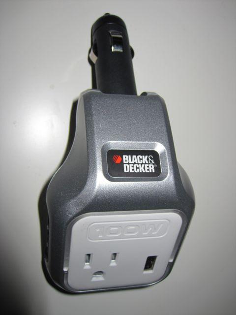 black & decker 100w power adapter