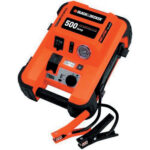 black & decker 500 watt jump starter with inflator