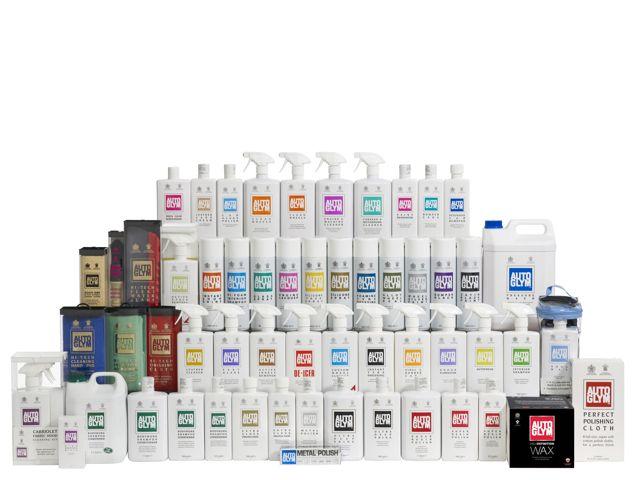 autoglym 2011 retail range