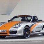 Porsche Unveils Boxster E