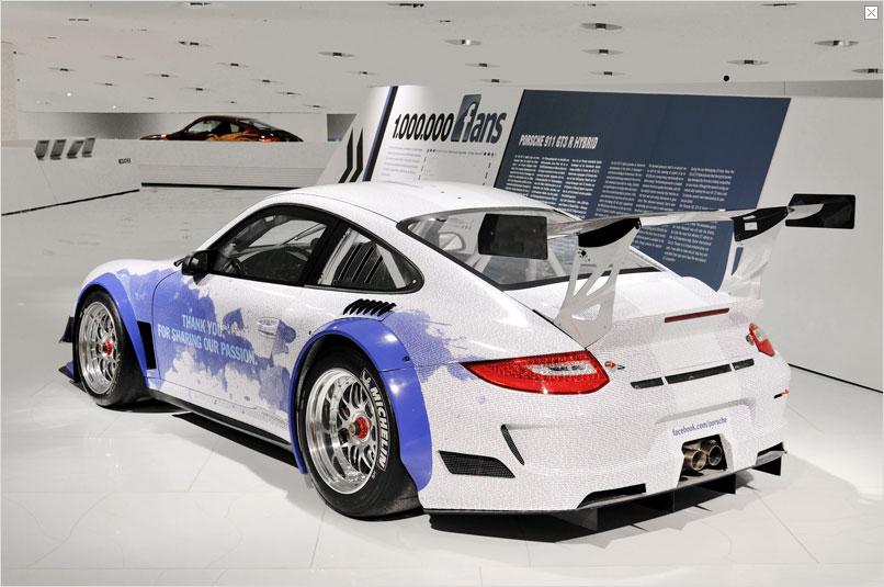 porsche 911 gt3 r hybrid facebook fan edition