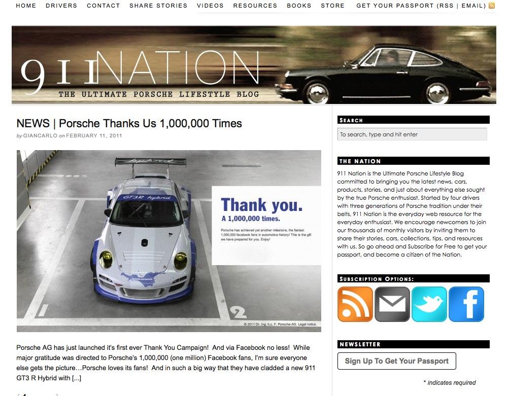 porsche 911 nation screenshot