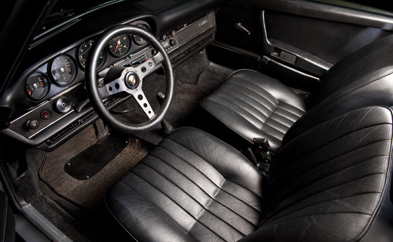 steve mcqueen porsche 911 interior