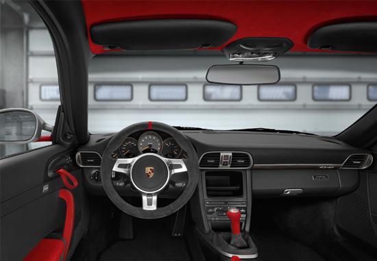 porsche 911 gt3 rs 4.0 liter interior