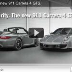 New Porsche 911 Carrera 4 GTS Video