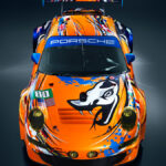 Porsche Flying Lizard Livery 80 2011