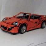 LEGO Porsche 911 Turbo Cab front