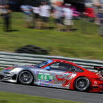 Flying Lizard Motorsports Takes 2nd at Lime Rock