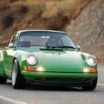 Singer Porsche 911 Green