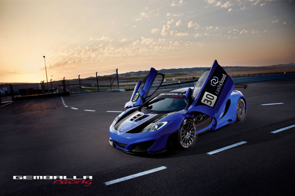 Gemballa racing McLaren MP4 12C GT3