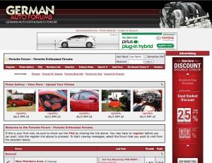 German Auto Forums Porsche Enthusiast Forums