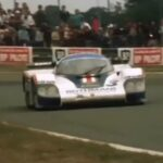Derek Bell Porsche 956 Drive