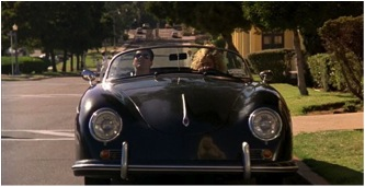 porsche 356 speedster top gun