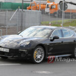 New Panamera Spy Shots Thanks To 9 Magazine