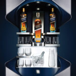 porsche design johnnie walker blue vip bar