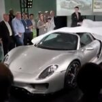 porsche 918 spyder launch party