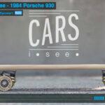Porsche 930 Journey