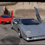 Lamborghini Countach vs. Lamborghini Aventador Video