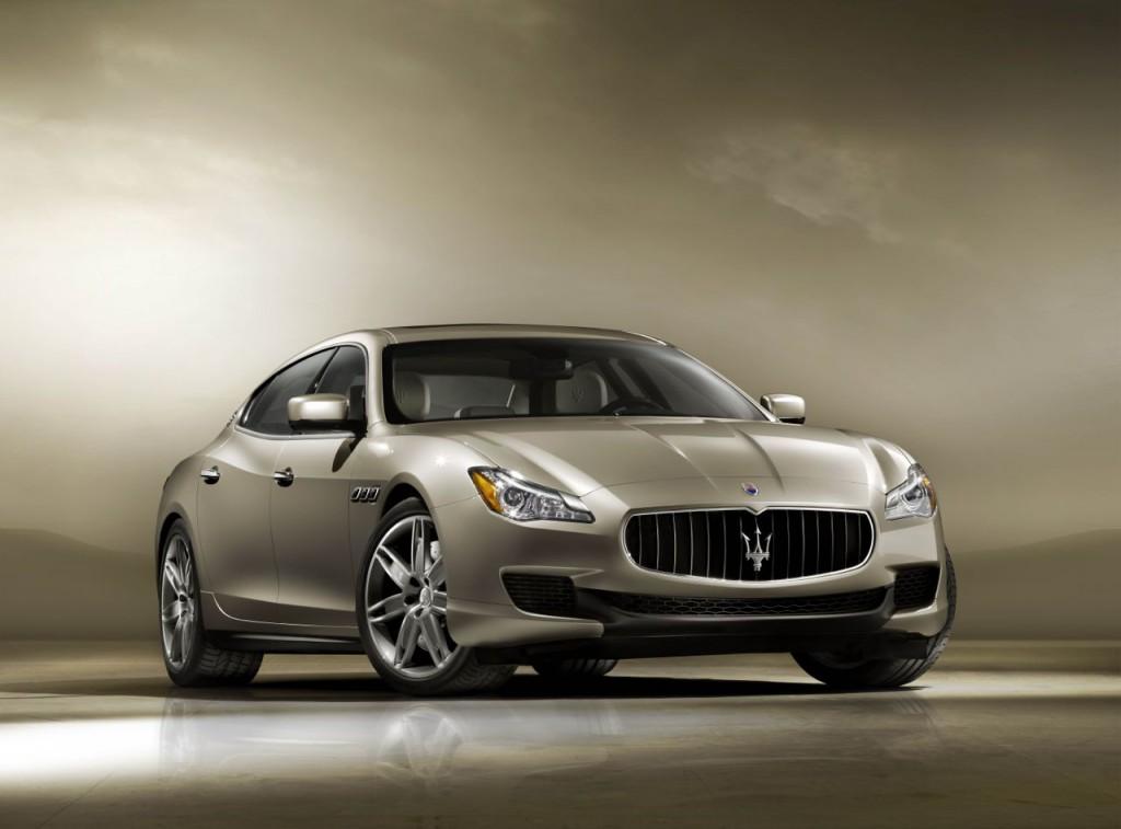 New Maserati Quattroporte Front