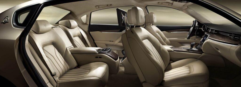 New Maserati Quattroporte Interior