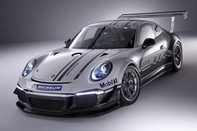 Porsche 911 GT3 Cup Type 991 Front