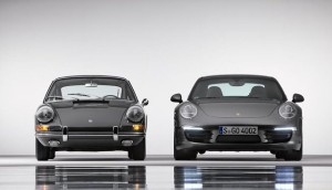Porsche 911 Generations Front