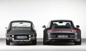 Porsche 911 Generations Rear