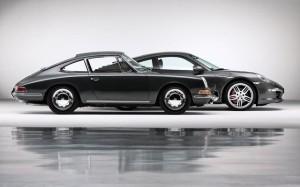 Porsche 911 Generations Side