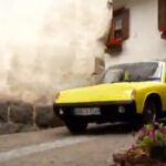 Porsche 914 Yellow Video