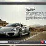 Porsche 918 Microsite GOODNESS!